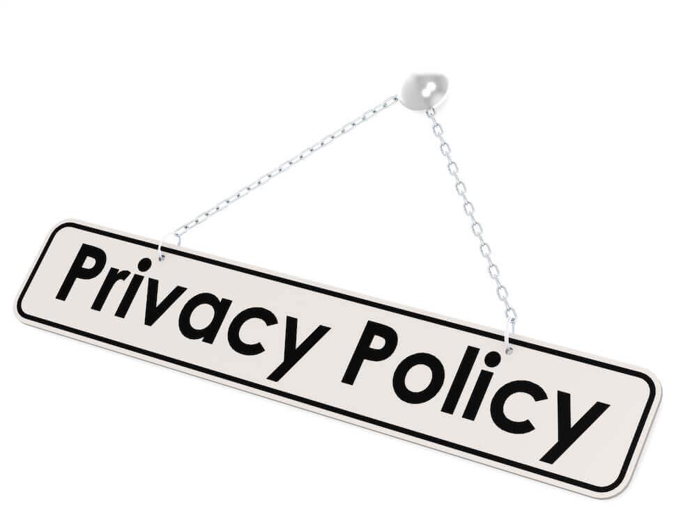 プライバシーポリシーの記載事項13項目