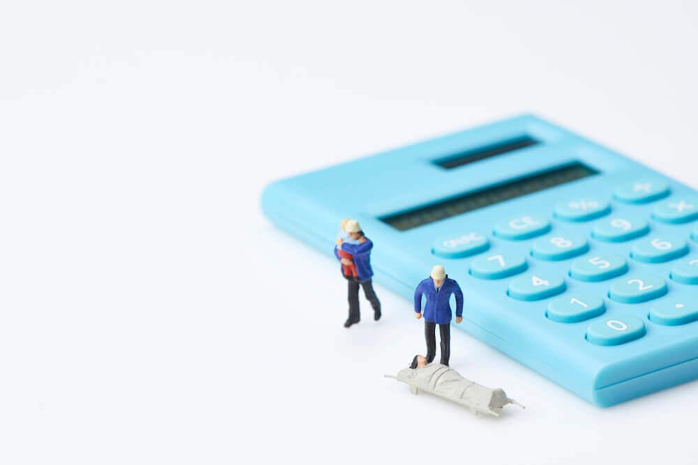 労災事故の際の慰謝料の計算方法の基本